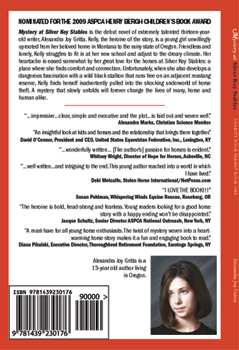 Book One Back Cover